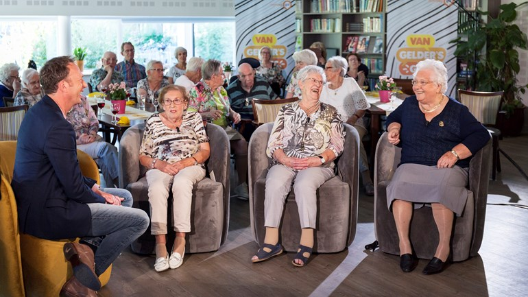 Golden Oldies Duo bij TV Gelderland